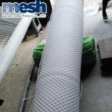 Malla de plástico para la construcción, para la construcción de malla de PE
