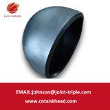 07-05 piccola estremità emisferica del acciaio al carbonio della parete spessa per le parti senza giunte del serbatoio