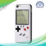 TetrisのiPhoneのためのレトロのゲームの男の子の携帯電話の箱7と6 6s 6 8つのXカバー