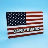 Elektronischer Antiscanner des Diebstahl-Kreditkarte-Schoner-RFID, der Karte blockt