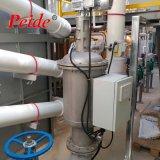 冷却塔水からの中断された固体取り外しのための自動自浄式フィルター
