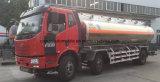 FAW 3の車軸20tオイルの輸送のトラック給油車20000リットルのアルミ合金の