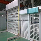 Usine fabriquant directement les obturateurs extérieurs en acier en aluminium motorisés manuels de rouleau pour le guichet de porte de garage