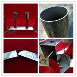 La Cina ha fatto il laser della fibra dell'acciaio inossidabile convogliare il macchinario di taglio