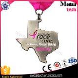 O medalhão feito sob encomenda por atacado concede a medalha Rotatable da raça