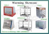 De Ce Goedgekeurde Showcase van het Verwarmingstoestel van het Voedsel van het Glas Hete