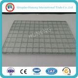 Tipo de vidrio de seguridad Vidrio atado con alambre con el CE ISO