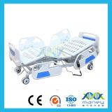 Lit électrique à cinq fonctions à moteur pour hôpital