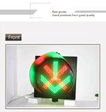 Alto semáforo rojo de la estación del peaje de la señal verde de la manera 400m m
