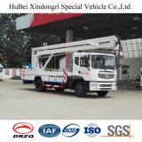 3折るアームを搭載する18-22m Dongfengの高い働くトラック