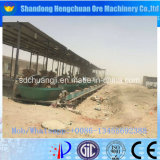 Double roue Wet Pan Mill Gold Mine Equipment