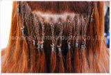 Dyeableはバージンの毛から成っている人間の毛髪の拡張をStick/Iひっくり返す