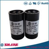 110V 124-149mfd elektrolytischer Kondensator für das Beginnen von Bruchpferdestärken
