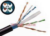 Ftpcat6 esterni scelgono il cavo dell'audio del connettore di cavo di comunicazione di cavo di dati del cavo del rivestimento 4X2X23AWG/Computer