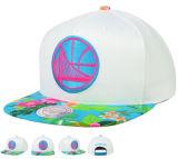 Neues StickereiHip-HopBasketball-Team des Form-Entwurfs-3D Sports Hysteresen-Hut-Schutzkappe