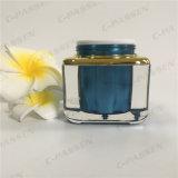 化粧品の包装のための正方形50gのアクリルのクリーム色の瓶(PPC-ACJ-081)