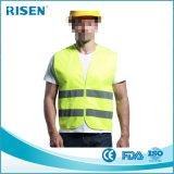 Логос отражательной ткани полиэфира выдвиженческий напечатал высокую тельняшку безопасности видимости