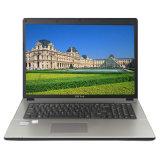De calidad superior del ordenador portátil de 17 pulgadas con procesador cuarto DVD / RW, Wi-Fi