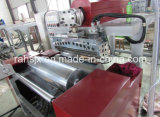 Fabrication d'une machine de film élastique à couche unique