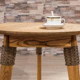 Самомоднейший угловойой бортовой круглый стол установленное A03-5 мебели таблицы