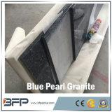 自然で青い真珠の台所カウンタートップのための磨かれた花こう岩の平板