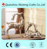 結婚式の装飾のカスタム樹脂のシカの置物