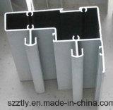 Aluminium/aluminium 6063 pièces personnalisées d'alliage de rideau en Al/de portes/de profil de finition de Windows
