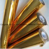 Feuille d'estampillage d'or pour le papier d'emballage en plastique