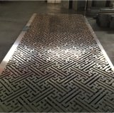 Панель и потолок плакирования вырезывания лазера металла