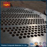 관 열교환기를 위한 탄소 강철 클래딩 티타늄을%s 가진 바이메탈 관판