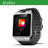 Teléfono móvil del reloj del GPS con el monitor del ritmo cardíaco de la presión arterial