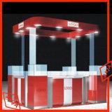 Ropa de madera Soporte de pantalla estanterías para tiendas de ropa