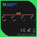Lumière d'endroit de l'en cuivre de placage GU10 DEL