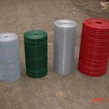 4つのカラーのためのPVCによって塗られる溶接された金網