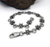 Accessoires de mode Bracelets à chaîne en bijoux unisex en acier inoxydable