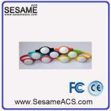 Bracelet transparent du silicagel de 13.56 mégahertz IC (S-WB2C)