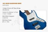 OEM ODM Blue Color Solid Body 4 cordes J Style basse basse électrique