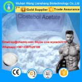 rohes Steroid Puder CAS 855-19-6 Turinabol des Azetat-4-Chlorotestosterone