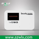情報処理機能をもった無線電信GSMのモジュールの住宅用警報装置、ホーム・オートメーションのためのリレーが付いているスマートなホームセキュリティーGSMの警報システム