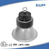 Alta luz de la luz LED Highbay de la bahía del LED 5 años de garantía