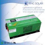 순수한 사인 파동을 AC 충전기를 가진 태양 변환장치이라고 6000W 사십시오