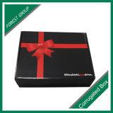 Boîte en carton d'impression couleur rouge