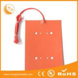 120V 110V Gleichstrom-Batterie und wasserdichte flexible elektrische Silikon-Gummi-Heizung