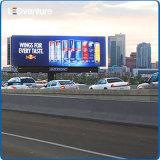 Signage rápido do diodo emissor de luz Digital do anúncio ao ar livre de cor cheia da entrega