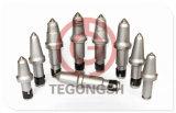 Am521hf runde Schaft-Bit-konische Untertagebetrieb-Zähne für Fräslader