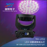 LED 36PCS 8W 4 in 1 Summen-beweglichem Hauptstadiums-Licht