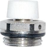 Valvola di ritenuta d'ottone cromata del gas per il radiatore