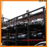 3 de 4 plantas hidráulicas de los niveles de estacionamiento de equipos Auto Stacker