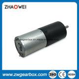 Motor de engranaje de CC de baja velocidad 12V 24mm de alto par