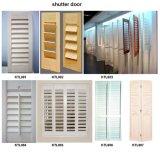 Porte en bois d'obturateur d'auvent (auvent de porte)